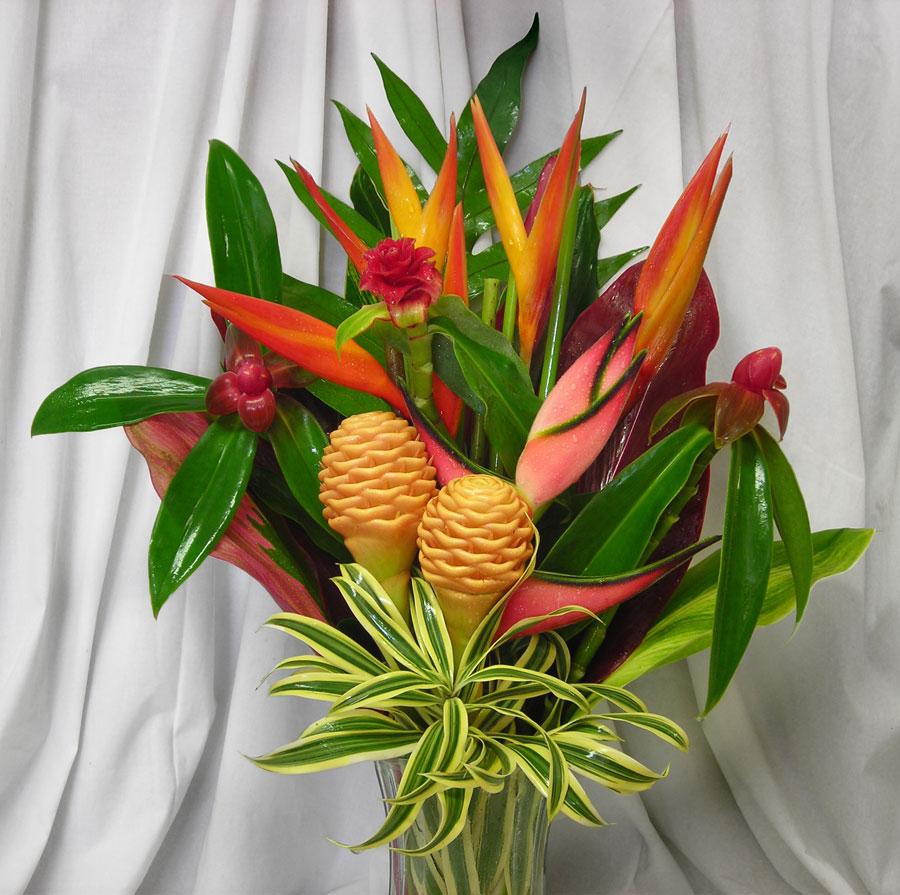 Tropical Flower Arrangements Gallery | Tropical Flower Arrangements
