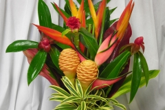 Simple-Tropical-Floral-Arrangements
