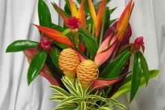 Simple-Tropical-Floral-Arrangements